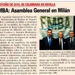 Asamblea General 2015 de la FMBA